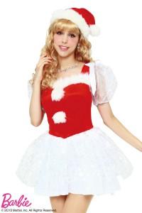 barbieクリスマスコスチューム