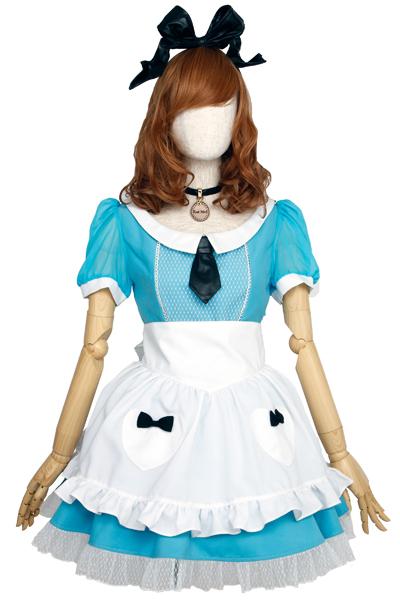 迷宮の国のアリス10週年記念、相沢梨紗デザインメイド服